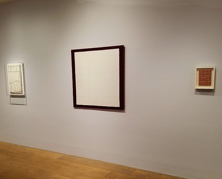 Tablet Reliefs in A Madison Ave Gallery