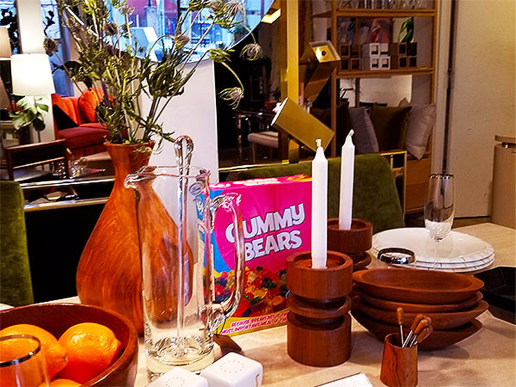 Vintage Glasses, Dishes and Other Things