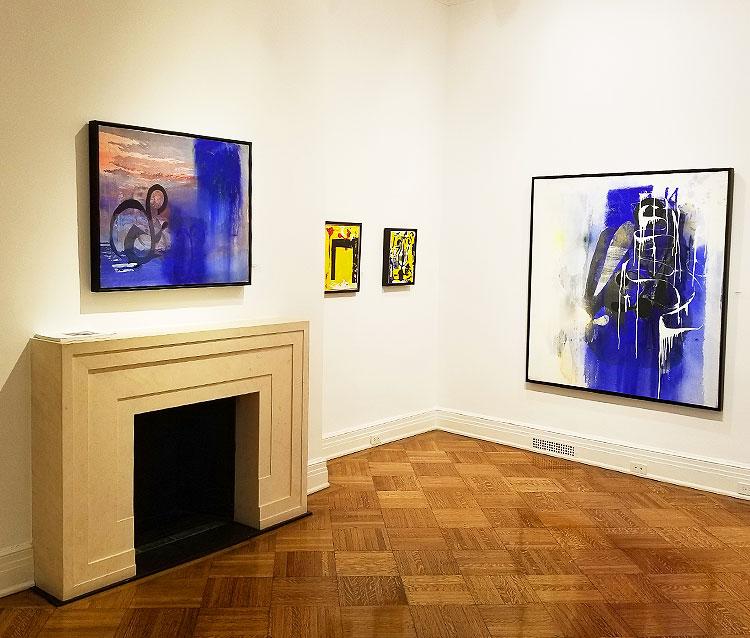 Paintings by Jeffrey Mandelman on Madison