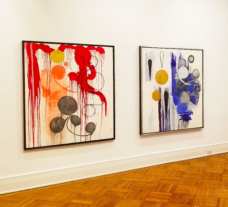 Abstract American Paintings