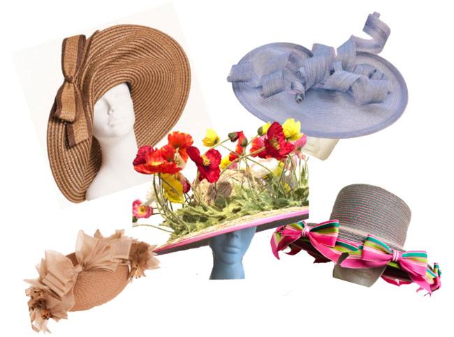 karen klopp, hilary dick, Hat Lunch New York Social Diary. Central park conservancy luncheon lolin hats