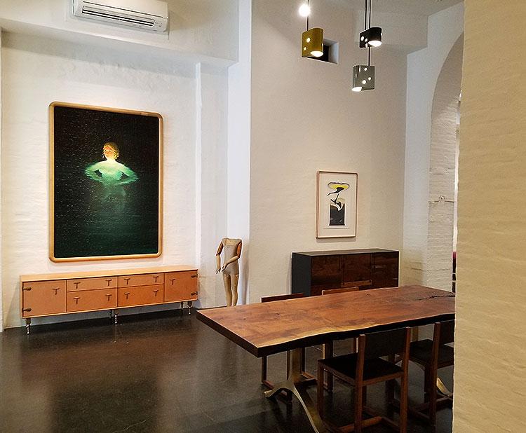 Furniture, Lighting and Art