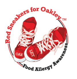 Red Sneakers for Oakliegh, INternational Red Sneakers Day.