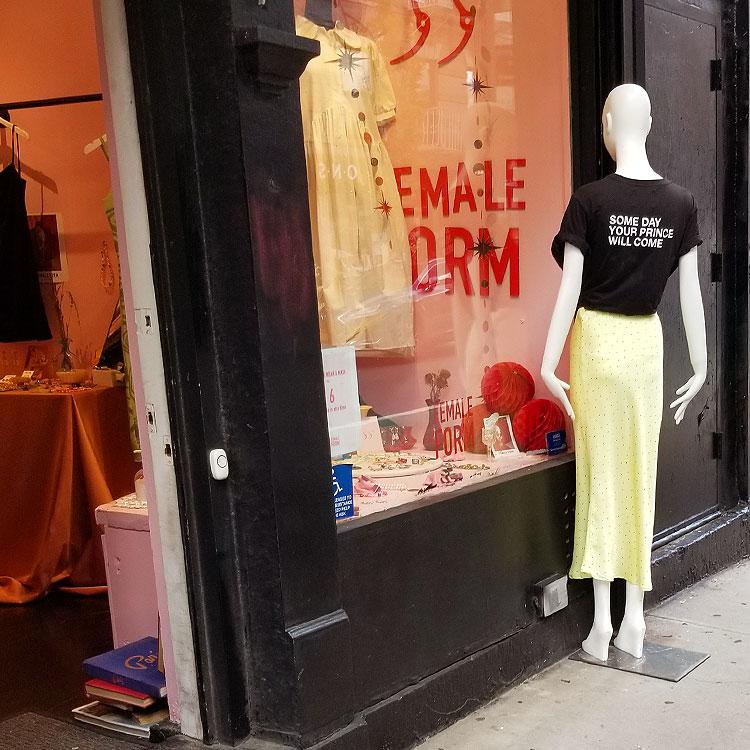 Outside The Shop
