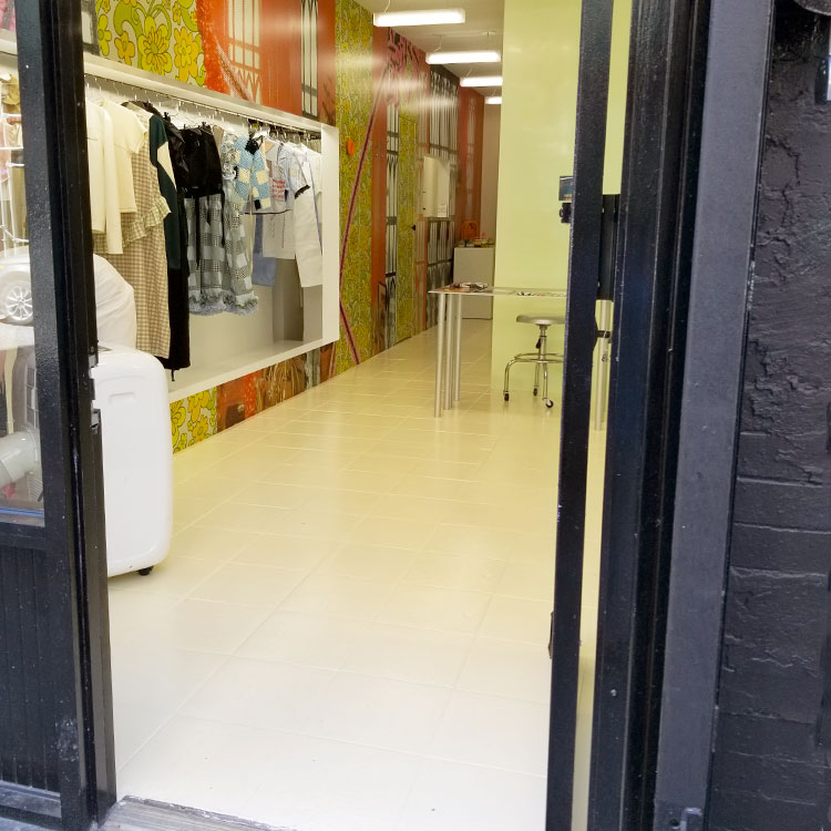 The Entry to The Boutique