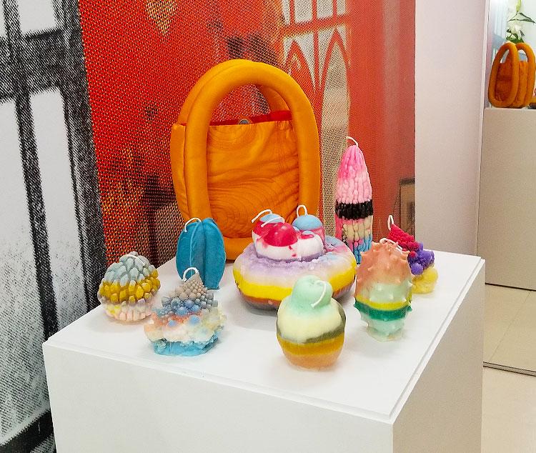 Unusual Indie Candles and Handbags