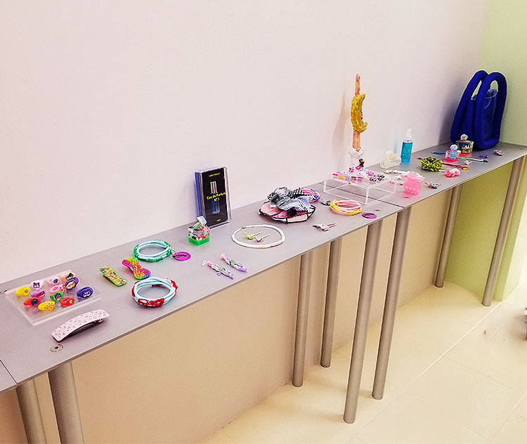 A Table Full of Accessories