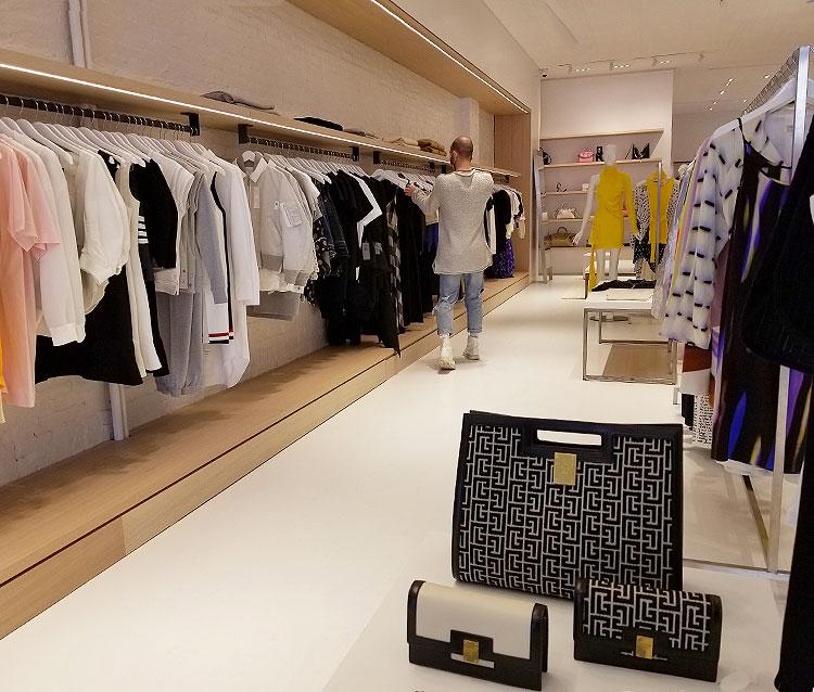 Balmain Accesories and Minimal Clothing