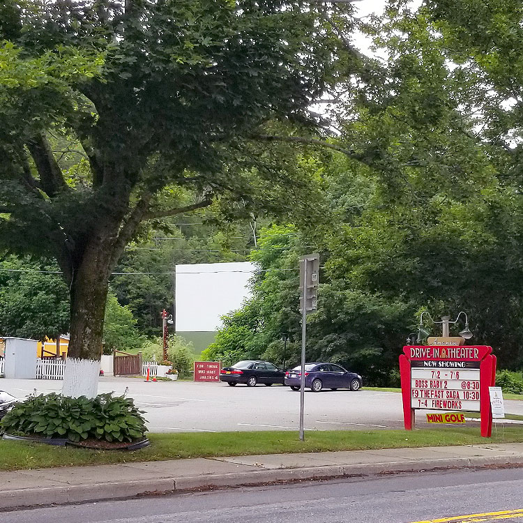 A Newly CHic Drive-In