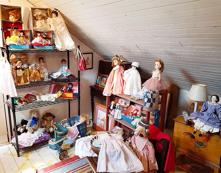 Dolls in The Attic