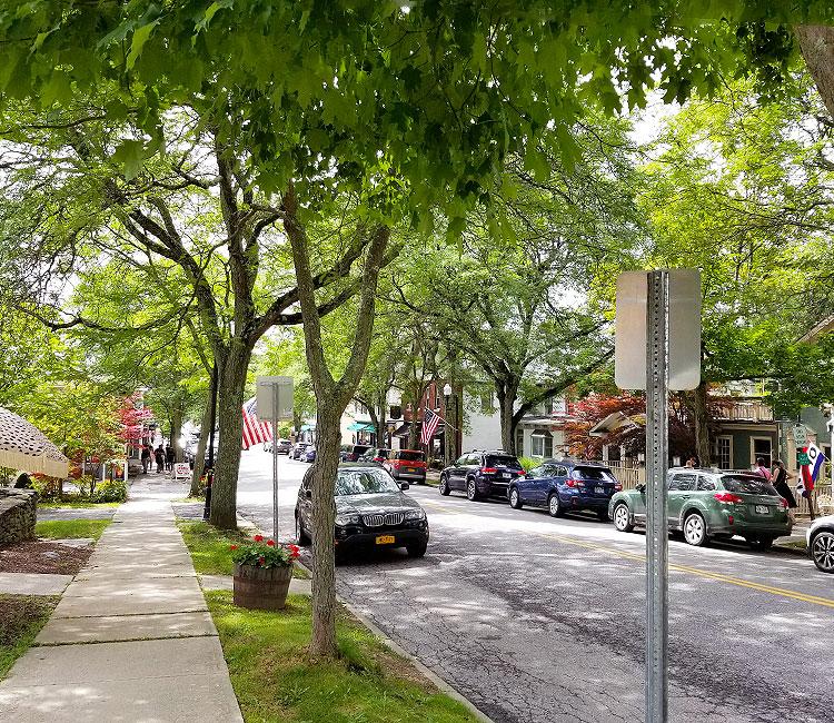 Downtown Millbrook, Franklin Avenue
