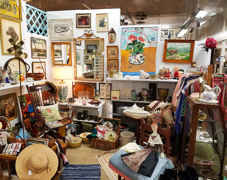 A Melange of Collectibles in Millerton