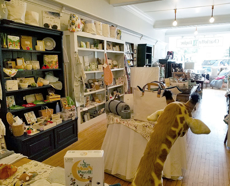 ravel and Home Goods at The Front of the Store