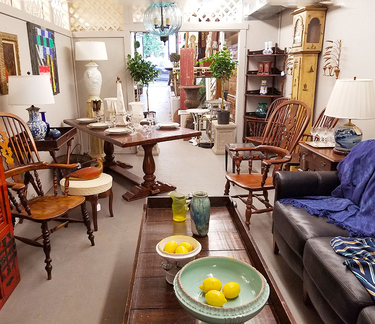 Antiques and Plants in Millerton