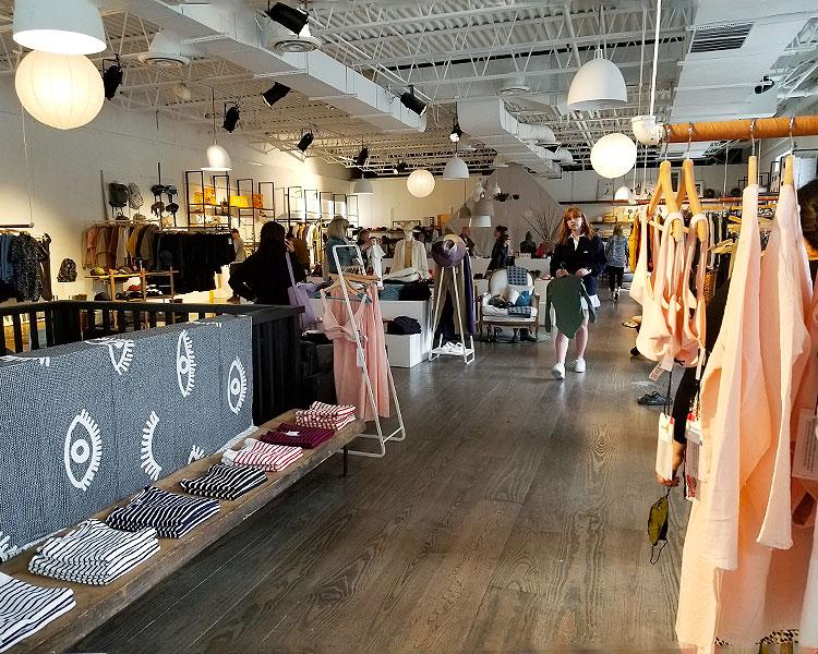 Women's Clothing on Display in Westerlind