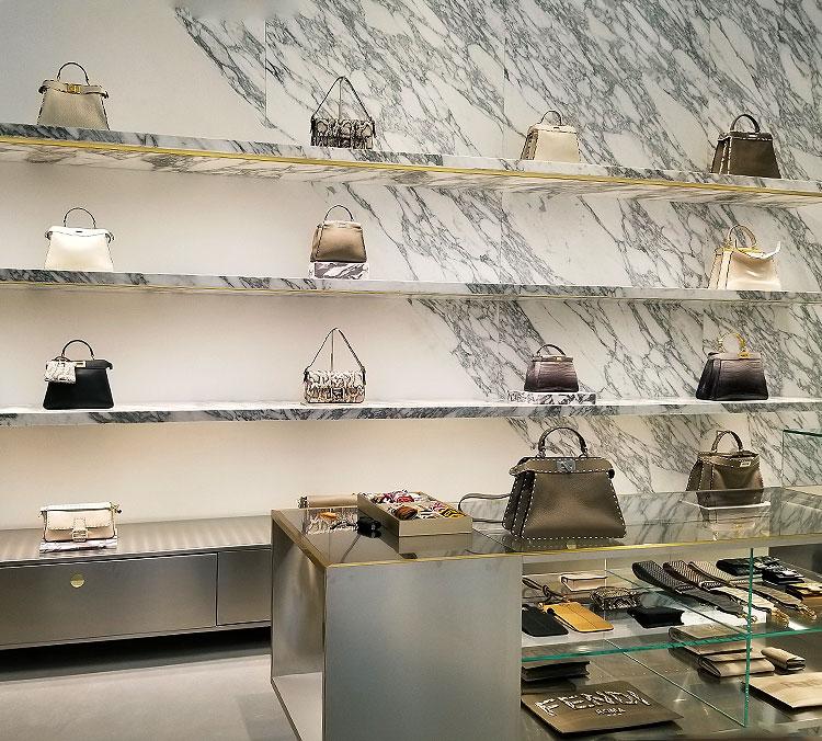 A Small Selection of Handbags at Fendi