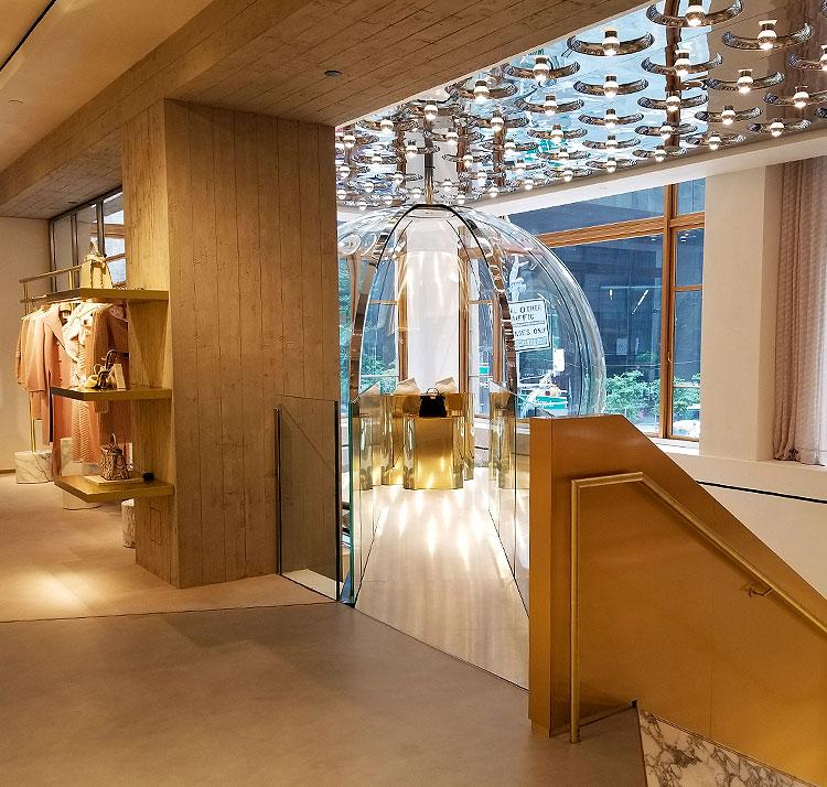 The Display Bubble at Fendi