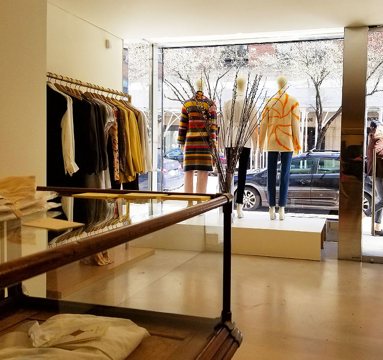 The New Store on Madison Avenue