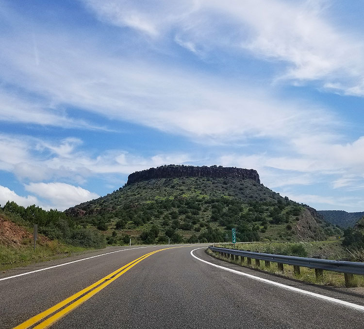 A Butte in The Coconino National Forest