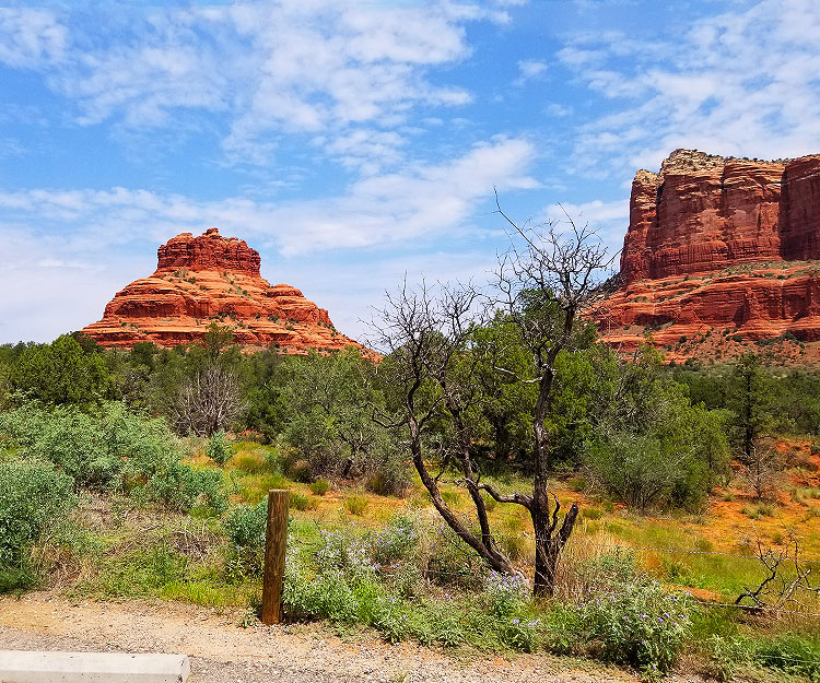 A Rock and A Butte in Sedona