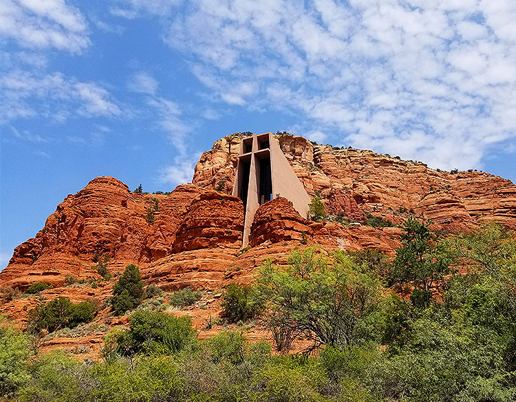 The Chapel of The Holy Cross in Sedona