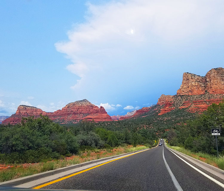 Coming In To Sedona