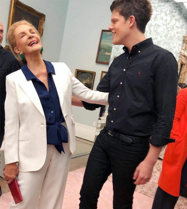 Karen Klopp and Hilary Dick article for New York Social Diary, What to Wear to the Couture Council Of FIT Artistry Of Fashion Awards. Carolina Herrera and Wes Gordon.